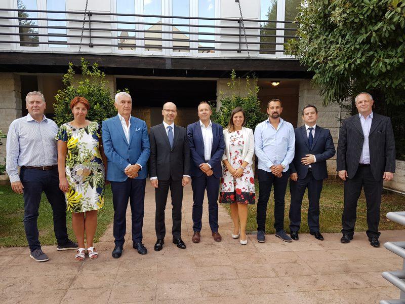 Posjeta ambasadi Republike Slovenije i sjednica Upravnog i Nadzornog odbora